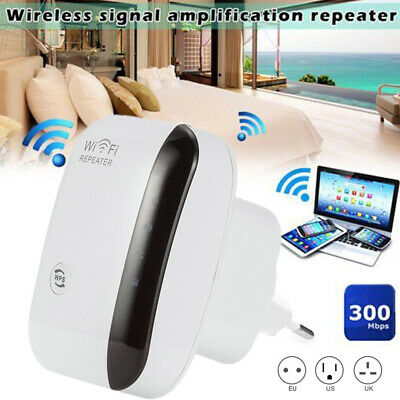 300 Mbps RIPETITORE WIRELESS WIFI REPEATER AMPLIFICATORE LAN RETE RANGE EXTENDER