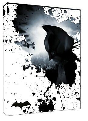 Batman Photo Picture Art Print On Framed Canvas Wall Art Home Decoration