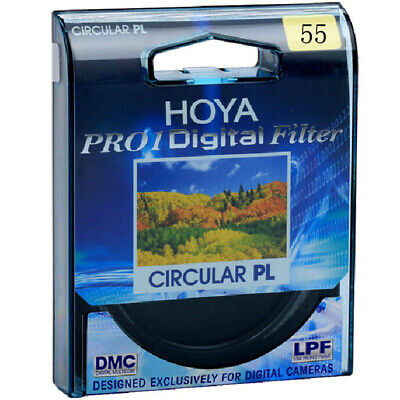 55mm HOYA PRO1D Circular Polarising Slim Filter PL-CIR CPL