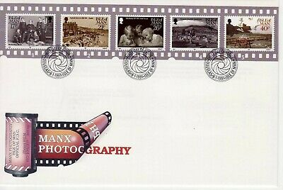GB Stamps First Day Cover IOM Manx Photography, camera etc SHS Lens Shutter 1991