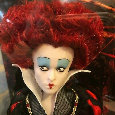 """Disney Red Queen/ Iracebeth/Queen Of Heart Doll From The Film Collection 12 1/2"""""""