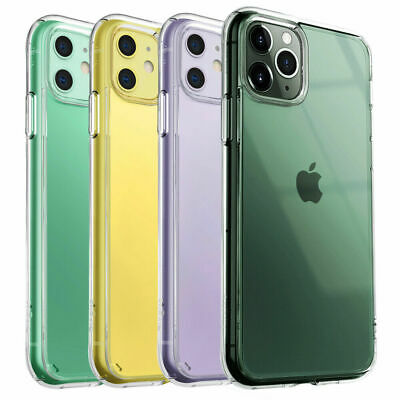Slim Hybrid Shockproof Thin Clear TPU Case Fits For iPhone 11 Pro MAX XR X XS