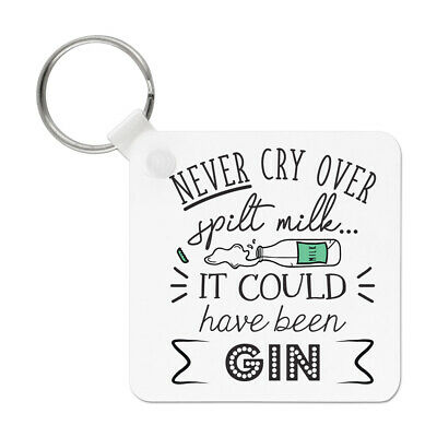 Funny Gin Gym Joke Just Renewed My Gin Membership Keyring Key Chain