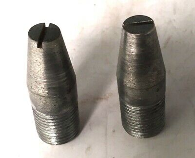 "2 New-Old-Stock 9/16"" N.F. Guide Pins Wheel Rim Bolt PG1"