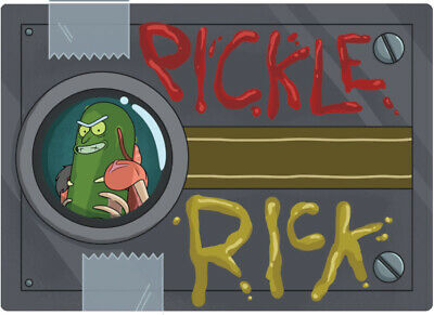 NYCC 2019 EXCLUSIVE Rick and Morty Cryptozoic Metal Card Mystery Pack Pickle