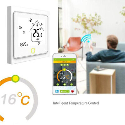 Casa Programmabili Smart Wifi Wireless Termostato Digitale App Control per Alexa