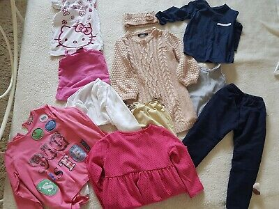 Age 3-4 Girls Clothing Bundle Hello Kitty, next, Mark's and Spencer And More
