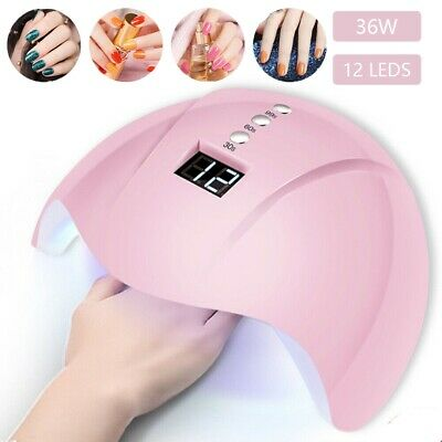 Nail Dryer LED Lamp UV Light for Nails Polish Gel Machine Electric Manicure 36W