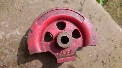 Record Industrial Pipe / Tube Bender 20mm former - Made in England 3/4in