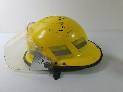 Lion Apparel Revolution Fire Firefighter Yellow Helmet Paul Conway USED Turnouts