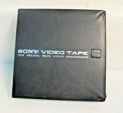 "SONY 1/2"" helical scan video tape"