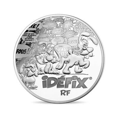 10 euro France 2019 Proof silver - 60 years Asterix (Dogmatix)