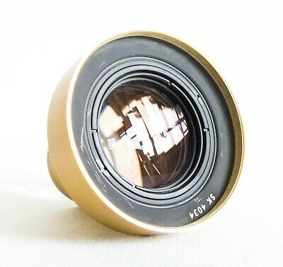 Schneider 77.5mm f/2 Projector Lens - Suitable as a prime lens for anamorphic
