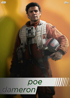 Topps Star Wars Card Trader Technocolor HEROES Poe Dameron [DIGITAL CARD]