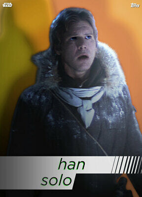 Topps Star Wars Card Trader Technocolor HEROES Han Solo [DIGITAL CARD]