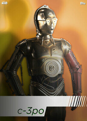Topps Star Wars Card Trader Technocolor HEROES C-3PO [DIGITAL CARD]