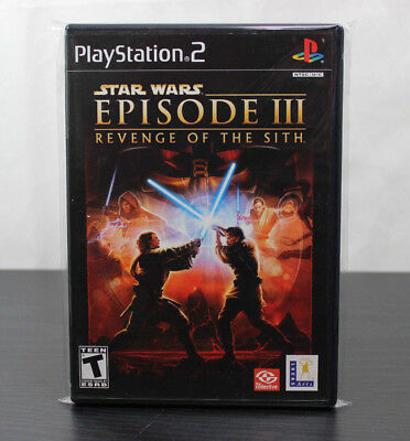 Star Wars Episode III 3 Revenge of the Sith  PlayStation 2