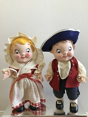 Vintage Campbell Soup Doll Girl And Boy Colonial