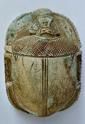 Rare Ancient Egyptian Scarab Stone