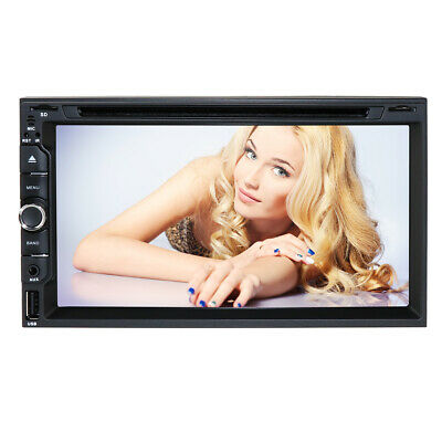 """For Sony Lens Double 2Din 7""""Car Stereo Radio GPS DVD Player Bluetooth Navigation"""