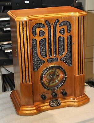 Thomas Museum Series Reproduction Am/Fm/Cassette Radio Model Mbii  Good
