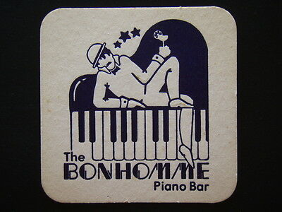 The Bonhomme Piano Bar Coaster
