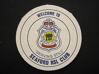 Seaford Rsl Club Coaster