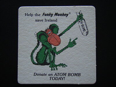 The Funky Monkey Spunky Club Save Ireland Donate An Atom Bomb Today Coaster