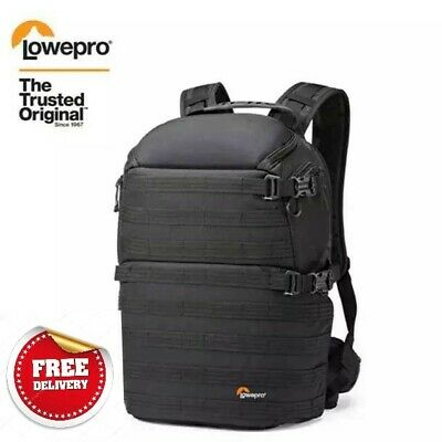 Genuine Lowepro ProTactic 350 AW DSLR Camera Photo Bag Laptop Backpack with All