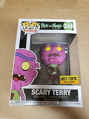 Funko Pop scary Terry Rick & morty Hot Topic exclusive