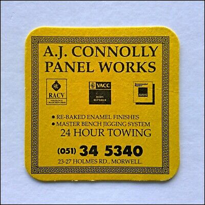 A.J. Connolly Panel Works 23-27 Holmes Rd Morwell 051345340 Coaster (B366)