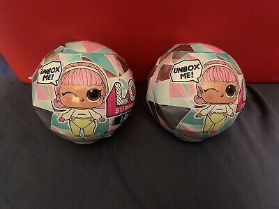 2 Each LOL Surprise Winter Disco LILS Little Sister Series 1 Doll Ball IN HAND