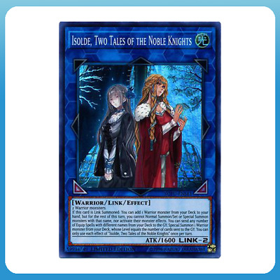 Isolde, Two tales of the Noble Knights - SO-ENSE1 - Super Rare - YUGIOH