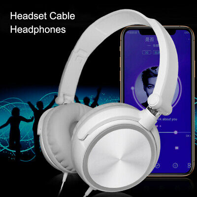 Wired Computer Headset with/without Microphone Heavy Bass Gaming Headphones