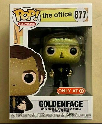 Funko POP Goldenface Jim Halpert The Office Target Exclusive Vinyl Figure #877