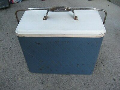 Vintage Willow Cooler / Esky / Fair Condition For Age