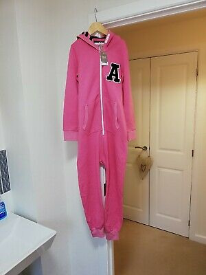 Bnwt Girls Pink all in one From Next, Age 10!!