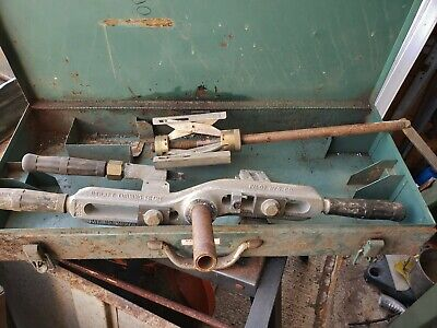Pilot Pipe fitter Field Hand Operated Lathe drain sprinkler plumbing turning