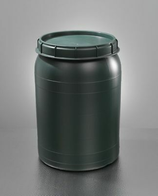 Barrel with Swivel Lid 60 Litre Green Wide Neck Ton Weithalsfass New! Top