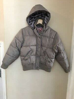 Girls NEXT Winter Warm Padded Jacket/coat With Hood,Age 9-10 Years, VGC