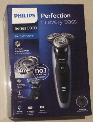 Philips S9111/12 series 9000 Electric Wet & Dry Cordless Shaver And Trimmer