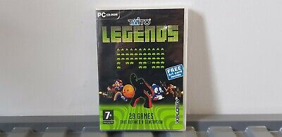 Taito Legends (PC, 2005) - European Version STILL SEALED DISC LOOSE INSIDE