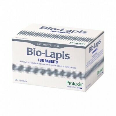 *OFFER* Protexin BIO-LAPIS Rabbits/Small Animals  4/6/8/10/20 or 60 X 2g Sachets