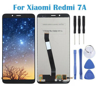 Pour Xiaomi Redmi 7A LCD Display Touch Screen Digitizer Écran tactile Noir H2FR
