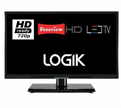 """Logik L20HE18 20"""" LED TV 720p HD With Freeview HD Missing Accessories Grade C"""