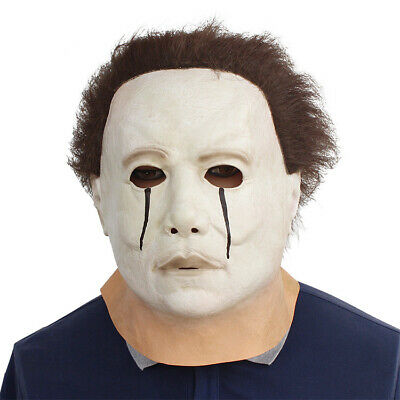 Deluxe Michael Myers Trick or Treat Halloween Adult Latex Full Head Mask US