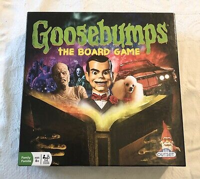 Goosebumps The Board Game By Outset,  Opened Box Never Used, Excellent Condition