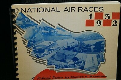 US National Air Races 1932 Reference Book