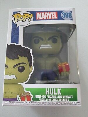 Funko POP! Marvel Hulk With Presents Holiday #398