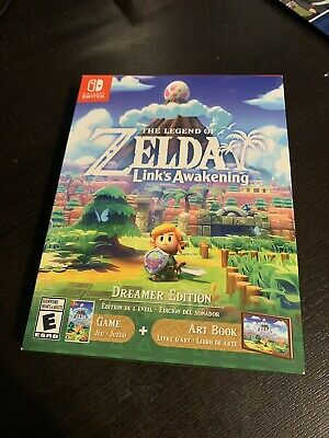the legend of zelda: link's awakening Dreamer Edition New Sealed